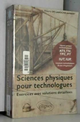 Sciences physiques pour...