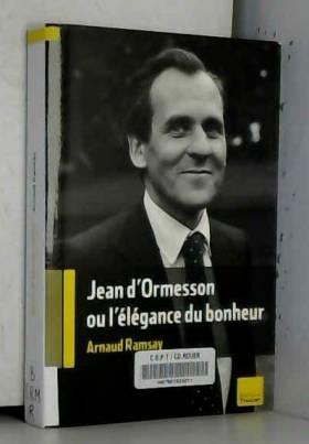 Jean d'Ormesson : Ou...