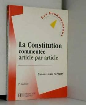 La Constitution commentée :...