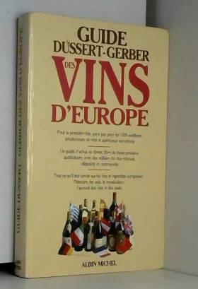 Guide Dussert Gerber des...