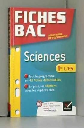 Fiches Bac Sciences 1re ES/L