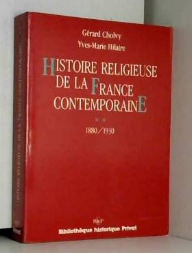 Histoire religieuse de la...