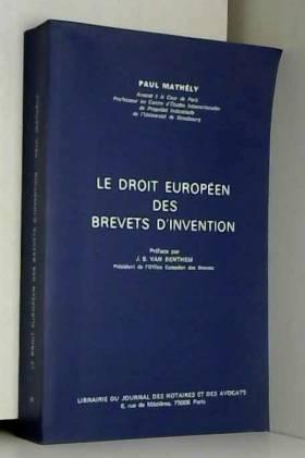 Le Droit européen des...