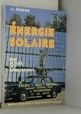 Énergie solaire : état...
