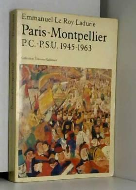 Paris-Montpellier...