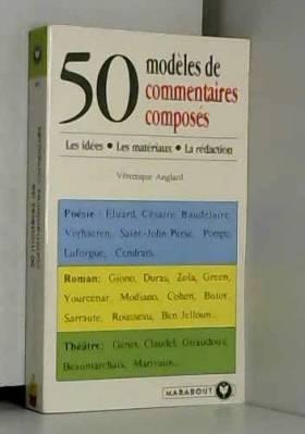 50 modèles de commentaires...