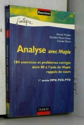 Analyse avec Maple : 184...