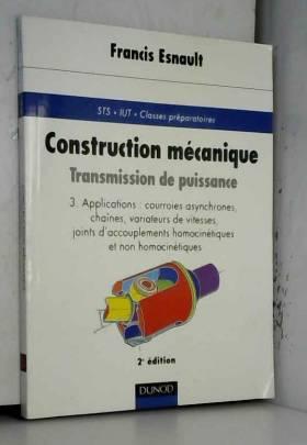Construction mécanique -...