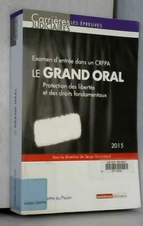 Le grand oral 2015 :...