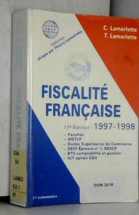 Fiscalité française