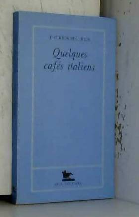 Quelques cafés italiens