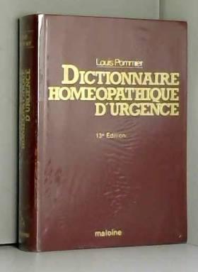 Dictionnaire homéopathique...
