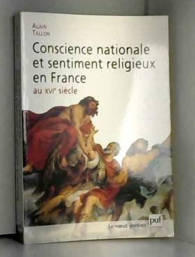 Conscience nationale et...
