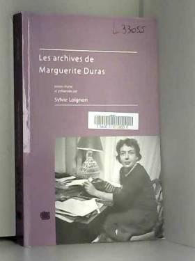 Les Archives de Marguerite...