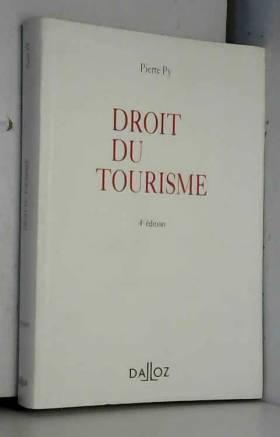 DROIT DU TOURISME. 4ème...