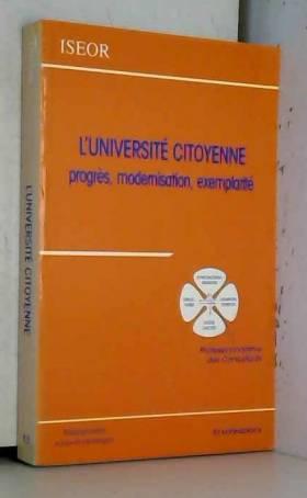 L'Université citoyenne :...