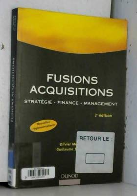 Fusions, acquisitions :...