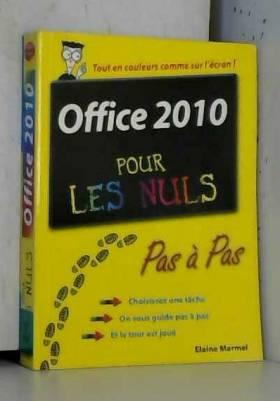 Office 2010 Pas à pas Pour...