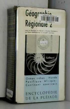 Géographie régionale, tome 2