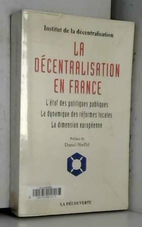 LA DECENTRALISATION DE LA...