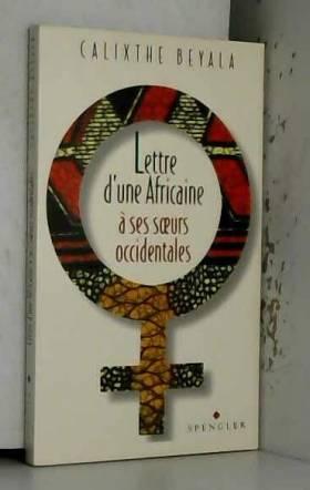 LETTRE D'UNE AFRICAINE A...