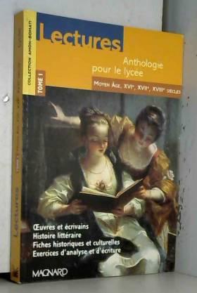 Lectures, anthologie pour...
