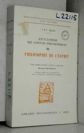 Encyclopédie des sciences...