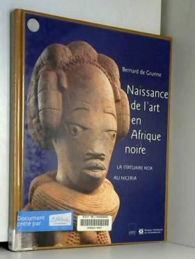 NAISSANCE DE L'ART EN...