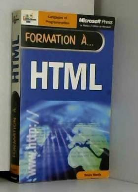 Formation à HTML