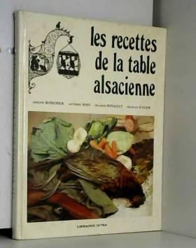 Les recettes de la table...