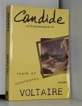Candide ou l'Optimisme :...