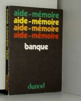Greslier - Aide-mémoire banque