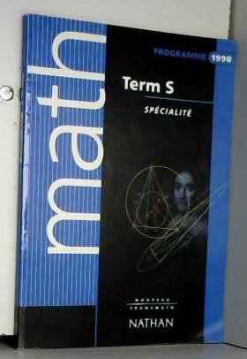 Math term S : programme 1998
