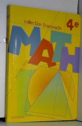 Math 4ème. Programme 1998,...