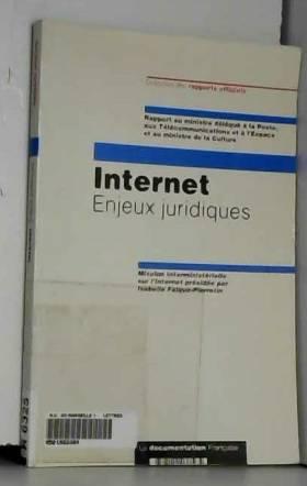 Internet. Enjeux juridiques