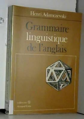 Grammaire linguistique de...