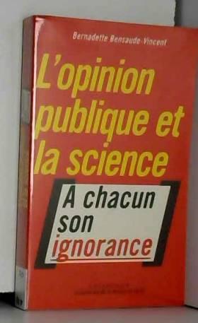 L'opinion publique et la...