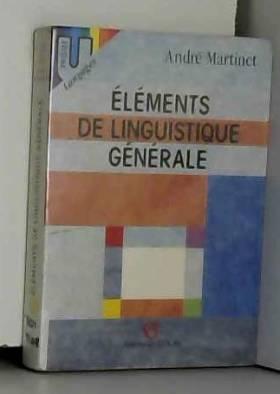Éléments de linguistique...