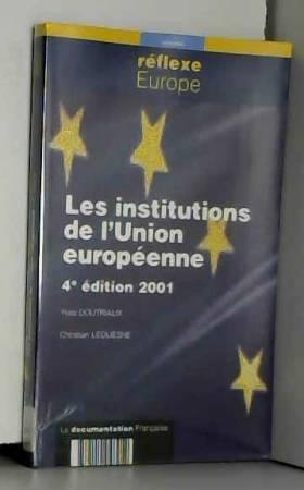 Les institutions de l'Union...
