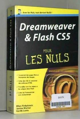 ELLEN FINKELSTEIN, JANINE WARNER et GURDY LEETE - DREAMWEAVER ET FLASH CS5 MEGAP