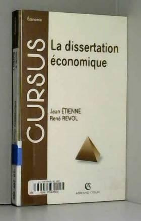 La Dissertation économique,...
