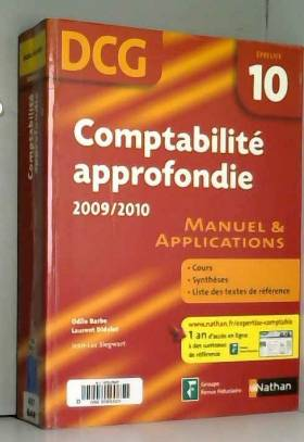 ODILE BARBE - COMPTABILITE APPROF EPR 10 DCG