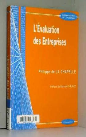 Philippe de La Chapelle - L'évaluation des entreprises