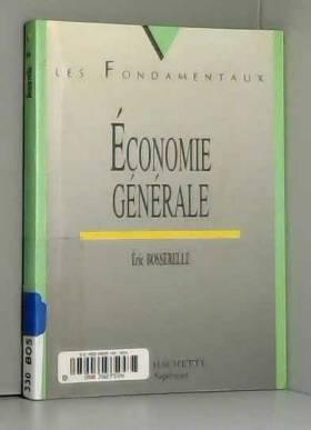 Eric Bosserelle - Économie générale