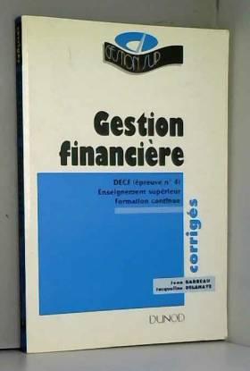 Gestion financière DECF :...