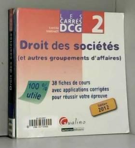 Carré DCG2 Droit des sociétés
