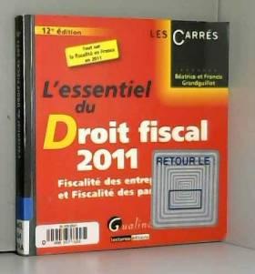 L'essentiel du droit fiscal...