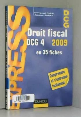 Droit fiscal DCG 4 2009