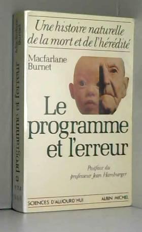 Le Programme et l'Erreur