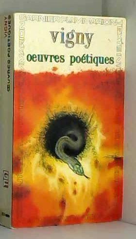Vigny oeuvres poétiques / Vigny, Alfred de